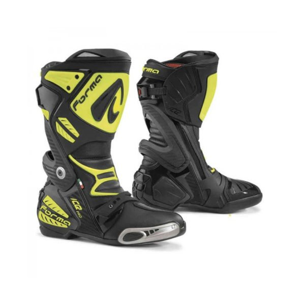 Forma Ice Pro Racing Boots Black Yellow