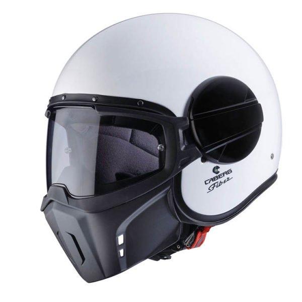 Caberg Jet Ghost Helmet WHITE