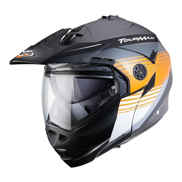 Caberg Tourmax Titan Enduro Helmet Orange