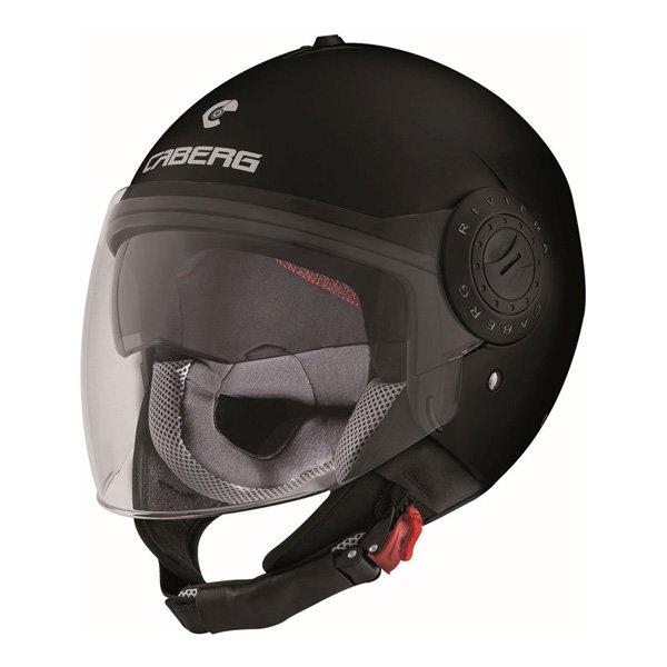 Caberg Riviera V3 mat black Jet Helmet