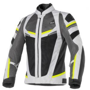 Clover RainJet Sport Jacket Grey Yellow