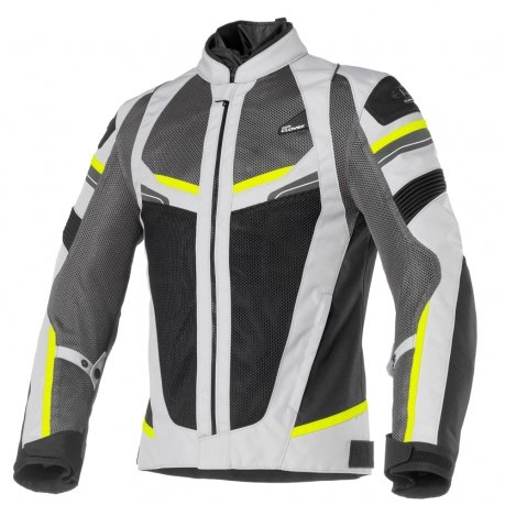 Clover RainJet Sport Jacket Grey Yellow