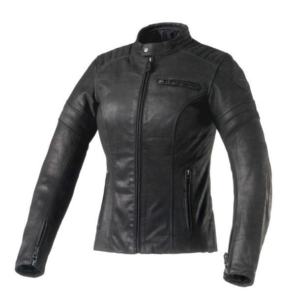 Clover Bullet Pro Lady Leather Jacket Black