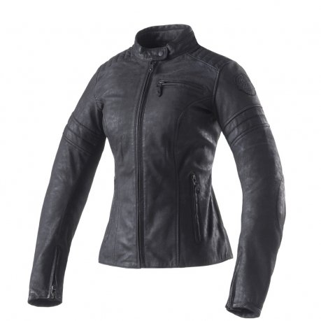Clover Bullet Pro Lady Leather Jacket Metal