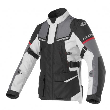 Clover Scout 3 Touring Jacket WP Black Grey