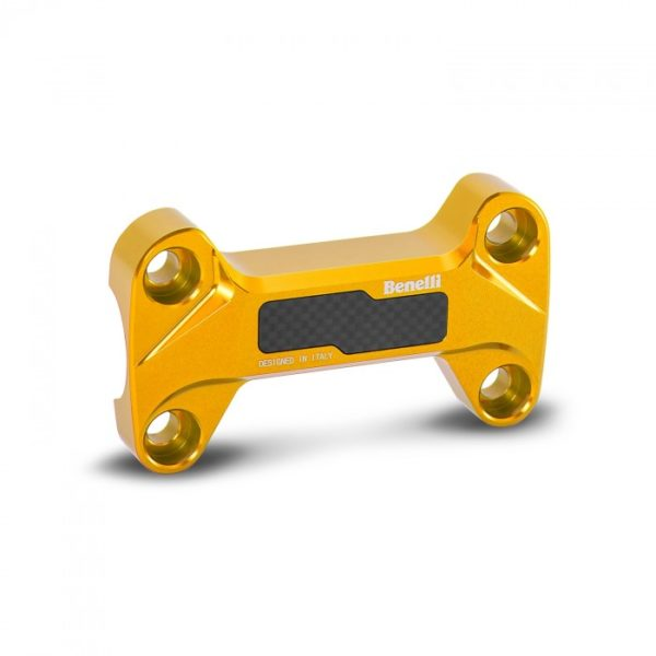 Benelli TnT 125 Ergal Anodized Handlebar Risers gold