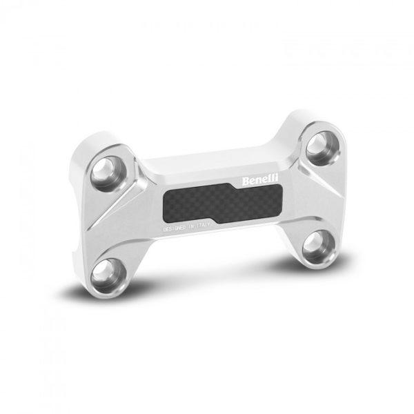 Benelli TnT 125 Ergal Anodized Handlebar Risers silver