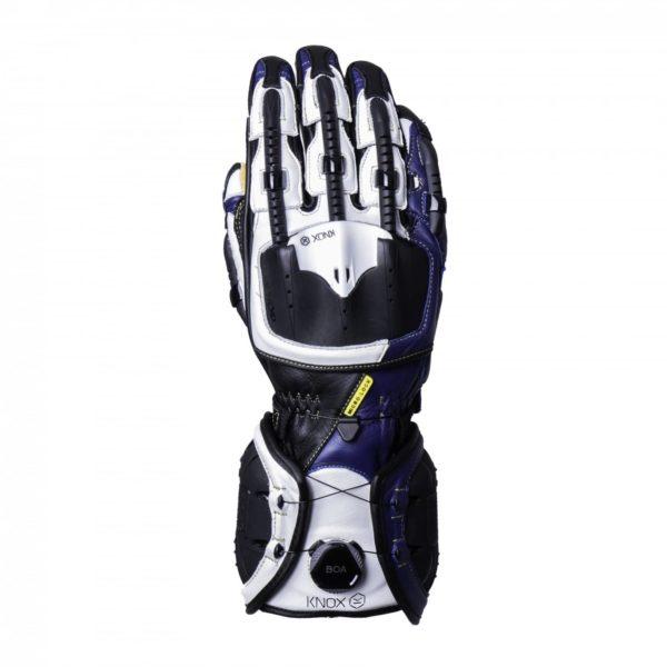 Knox handroid gloves blue