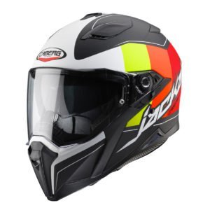Caberg Jackal Imola Black Yellow Red
