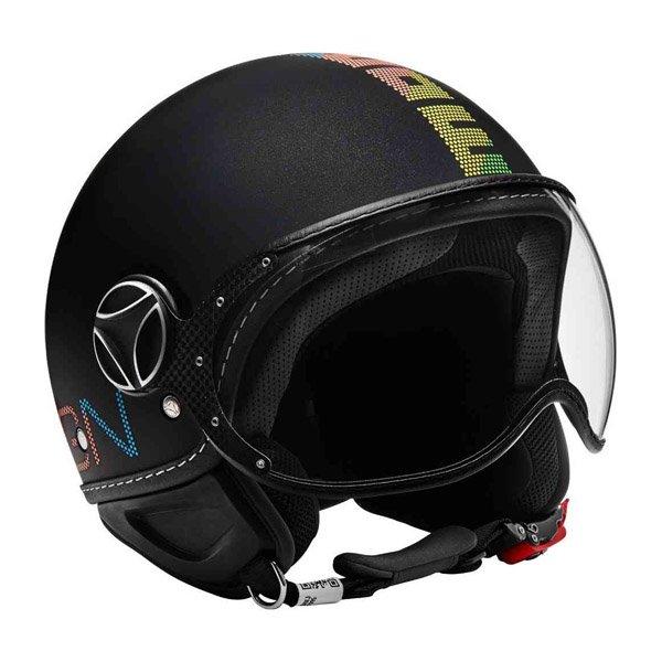 MOMO pixel jet helmet