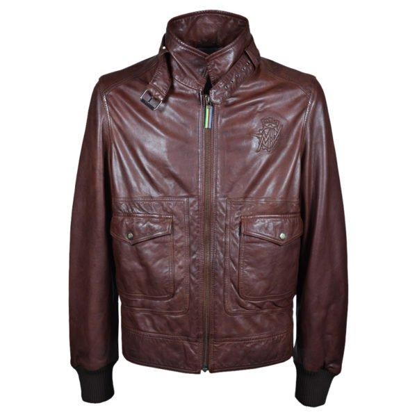 MV Agusta RC Vintage Leather Jacket