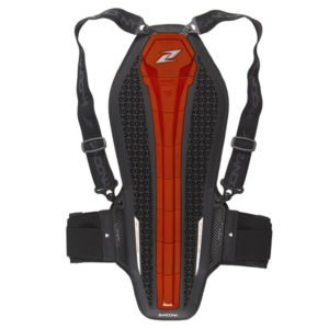 Zandona Hybrid Pro Back protector Red