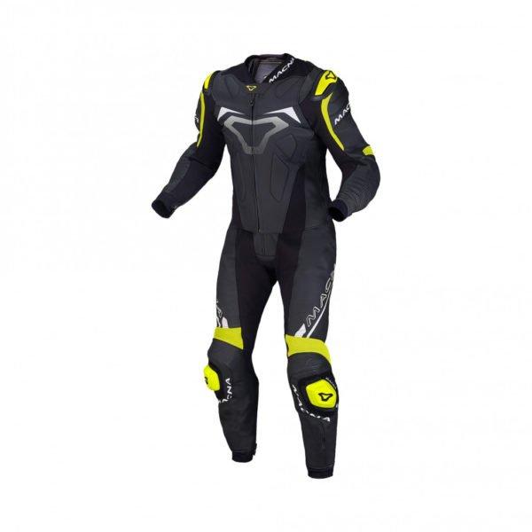 Macna Voltage two piece leather suit