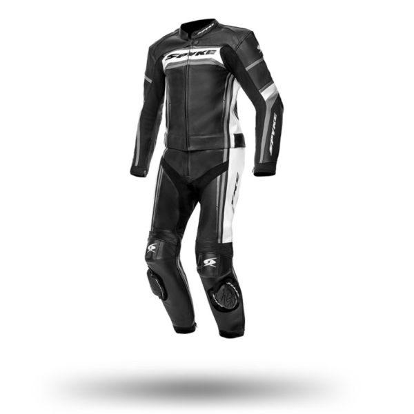 Spyke Imola Two Piece Leather Suit black
