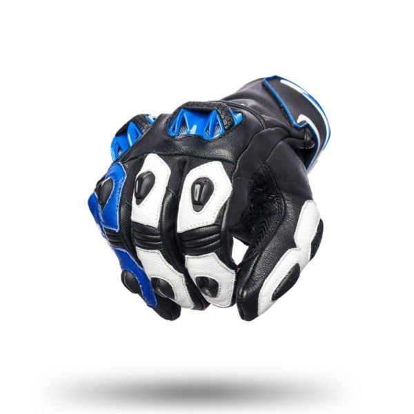 Spyke Tech Sport Leather Racing Gloves