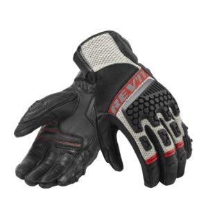 Revit Sand 3 Touring Gloves black red