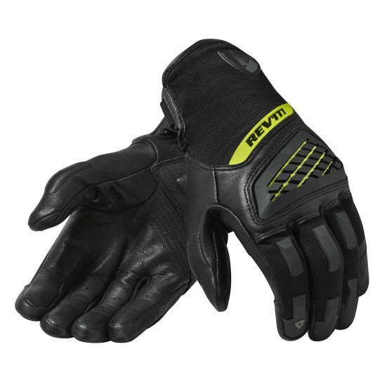 Revit Neutron 3 Gloves black neon