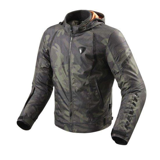 Revit Flare Textile Jacket army
