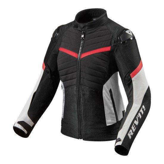 Revit Arc H20 Lady Sport Jacket black red
