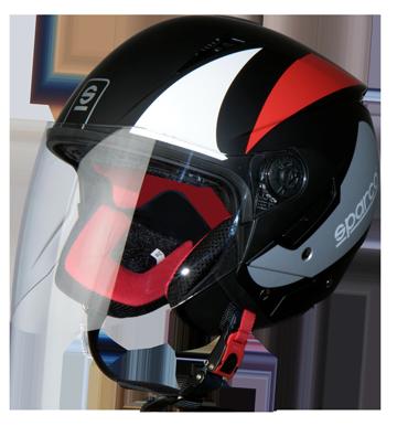 Sparco SP503 jet helmet