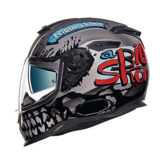 Nexx SX.100 Big Shot Full Face Helmet grey