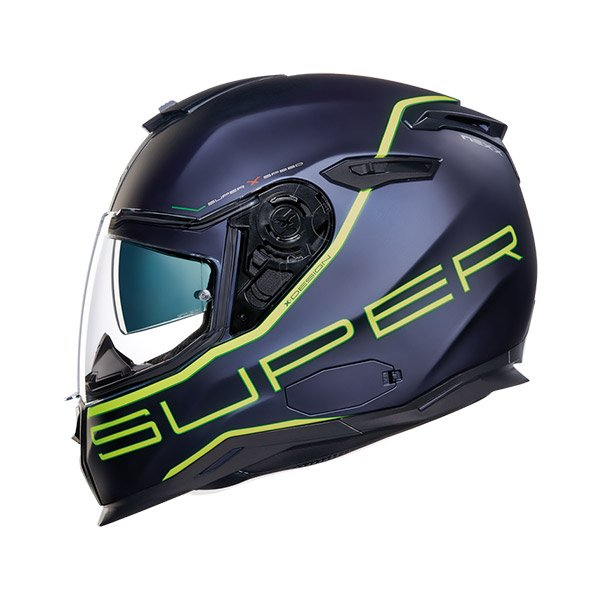 Nexx SX.100 SuperSpeed Full Face Helmet neon