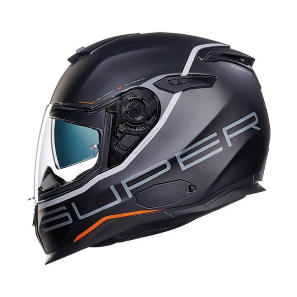 Nexx SX.100 SuperSpeed Full Face Helmet black