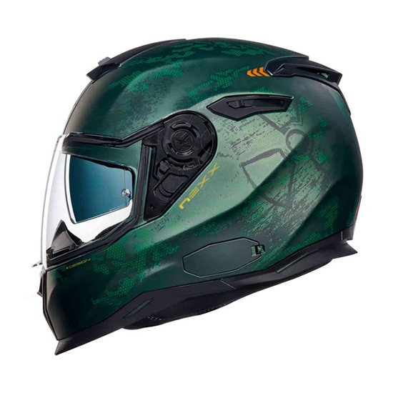 Nexx SX.100 Toxic Full Face Helmet forest