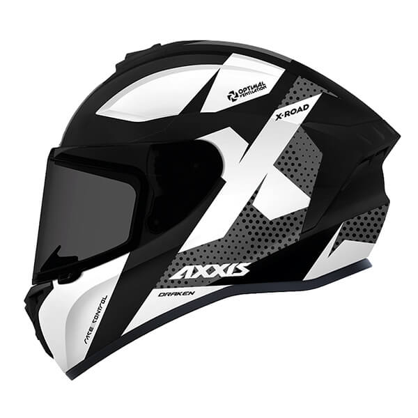 AXXIS DRAKEN X-ROAD Black and White