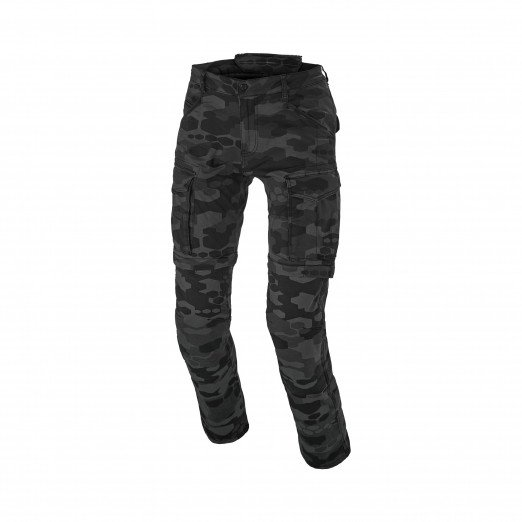 Macna Arrival Motor Jeans Black Print