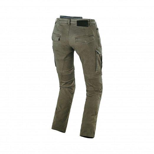 Macna Arrival Motor Jeans Green Back Side