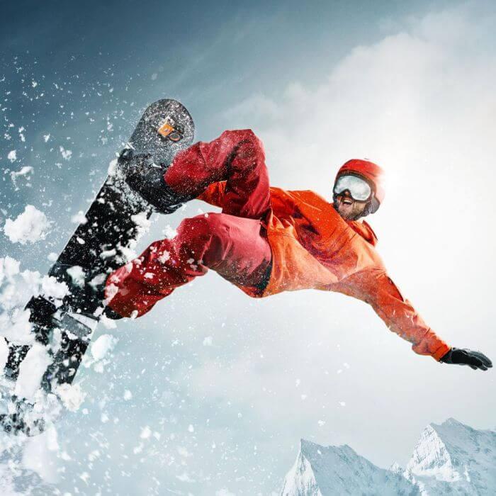 Snowboard Action Camera