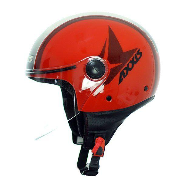 AXXIS Square Flag Jet Helmet