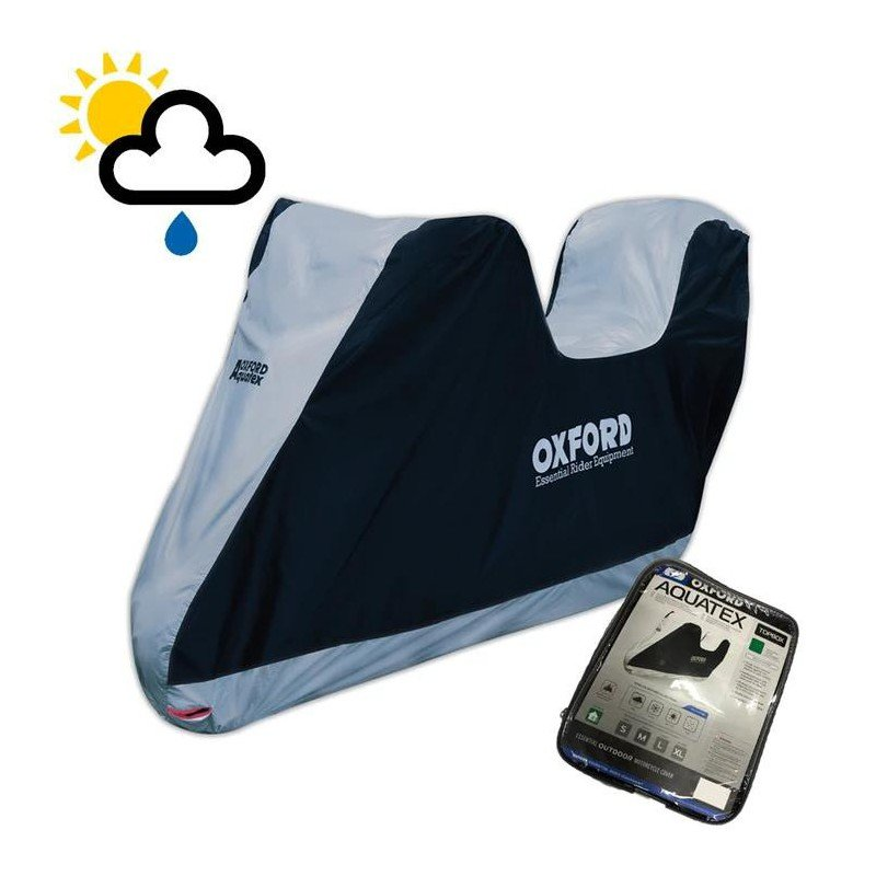 Oxford Motorcycle Cover with Top Box