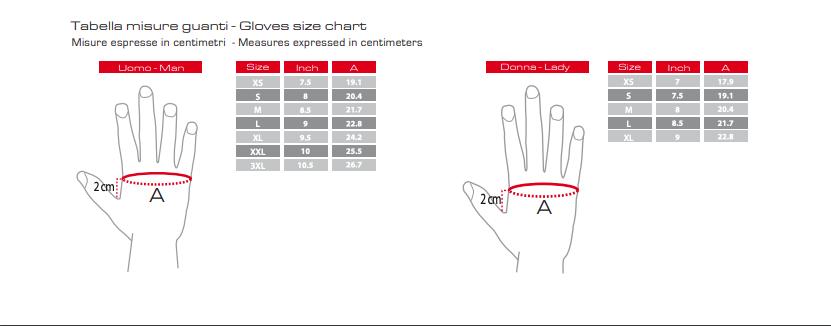 Clover size chart