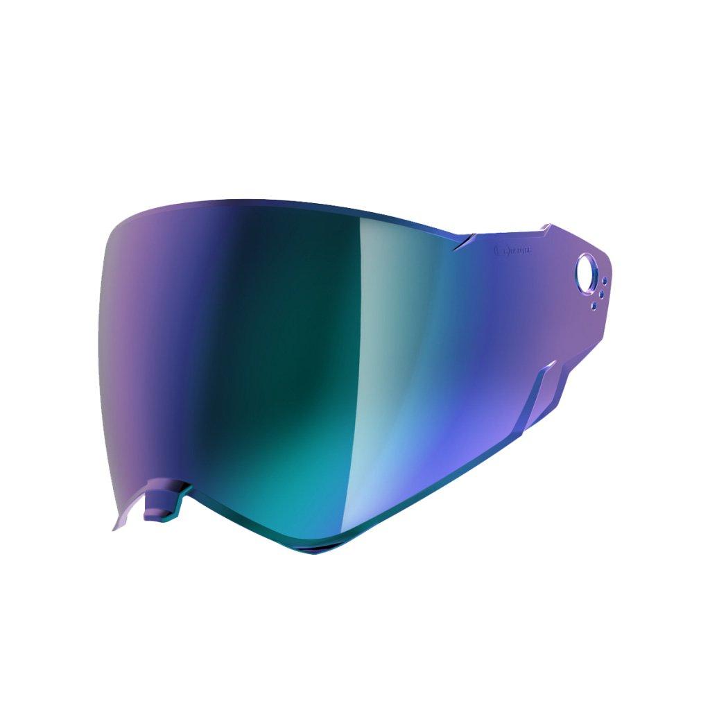 NEXX XWED2 Blue Iridium Visor