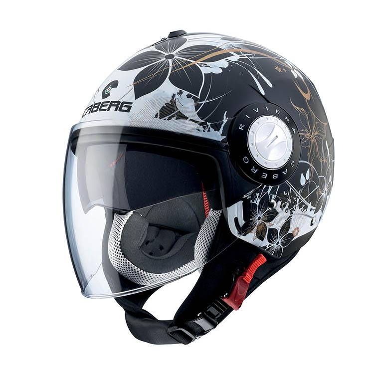 Caberg Riviera V3 Floral Jet helmet