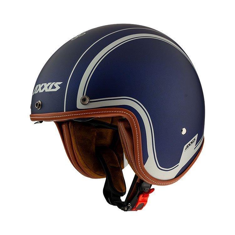 AXXIS Hornet SV Jet Helmet Blue Matt