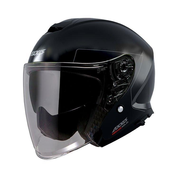 AXXIS Mirage SV Jet Helmet Black