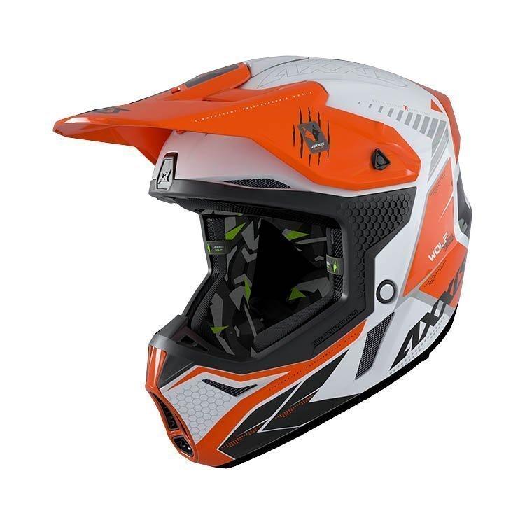 AXXIS Wolf Star Track Motocross Helmet